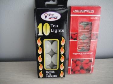 10Pcs Tea Light Candle