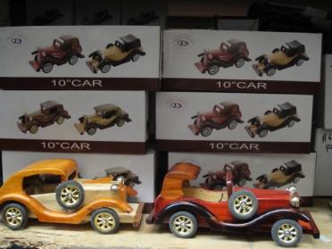 "10"" Wooden Car"